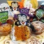 Dyniowe babeczki w wersji na Halloween Party