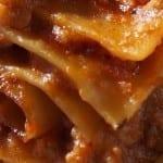 Lasagne bez sera ale z płatkami drożdżowymi