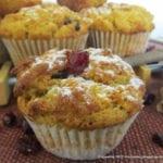 Muffiny marchewkowe z żurawiną