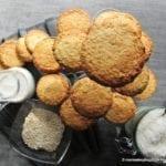 Ciasteczka owsiano-kokosowe (bez cukru, wegańskie)