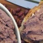 Pasta z fasoli adzuki (wegańska, bezglutenowa)