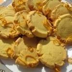 Kukurydziane Ciasteczka z Pomarańczową Nutą (bezglutenowe, wegańskie)