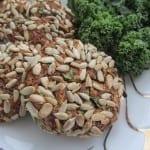 Kotlety z fasoli adzuki ze słonecznikiem (wegańskie, bezglutenowe)