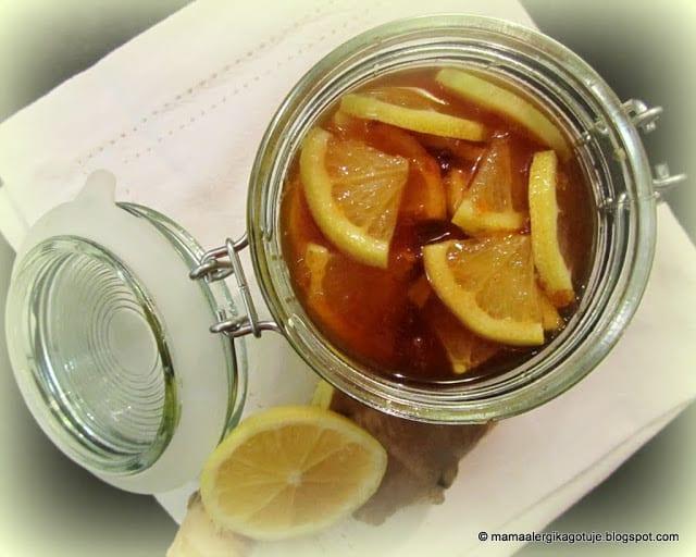 MAGiczna mikstura czyli miód z cytryną na przeziębienie i grypę