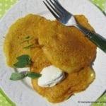 Placuszki kukurydziane na wytrawnie (be jajek, bez mleka)