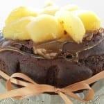 Tort Karobowy z Gruszkami (bez cukru, wegański)
