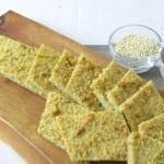 Chlebek z komosy ryżowej (bezglutenowy, wegański, dla Biegacza)