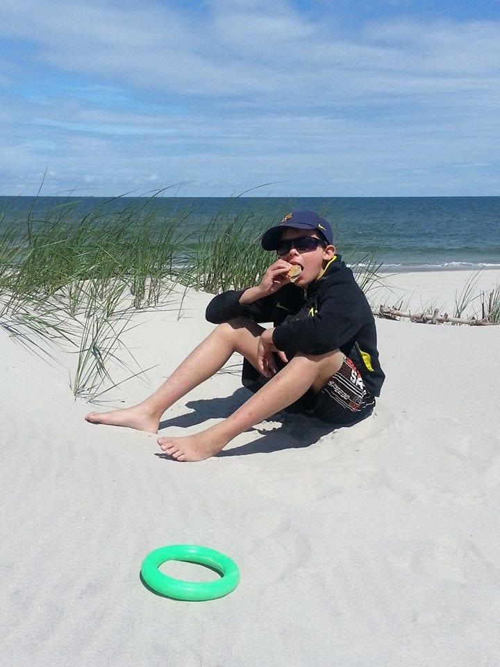 Bułeczki na plaży