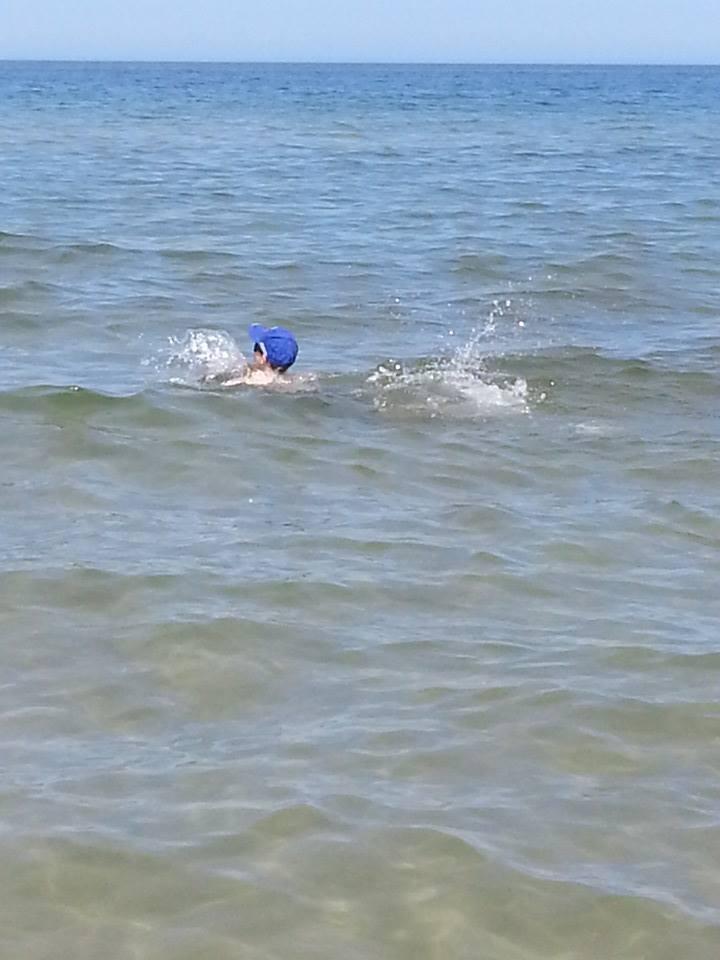Krioterapia czyli kąpiel w polskim morzu