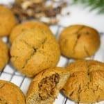 Bułeczki z kapustą i grzybami (bezglutenowe, wegańskie)