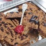 Brownie fasolowe z karobem (bezglutenowe, wegańskie)