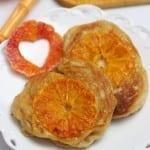 Racuchy drożdżowe z pomarańczami