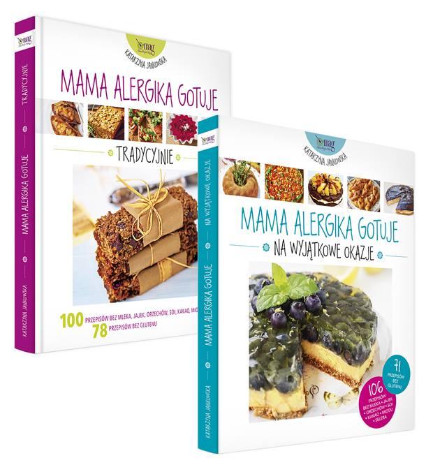 Książki z serii Mama Alergika Gotuje