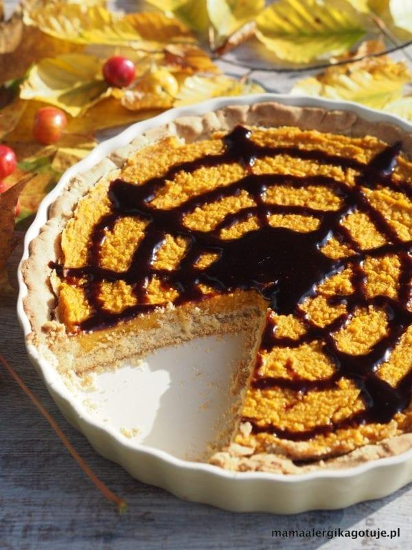 bezglutenowy, wegański Pumpkin pie