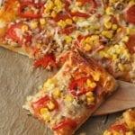 Domowa pizza orkiszowa