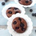 Muffinki orkiszowe z musem śliwkowym