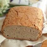 Chleb gryczany na domowym zakwasie