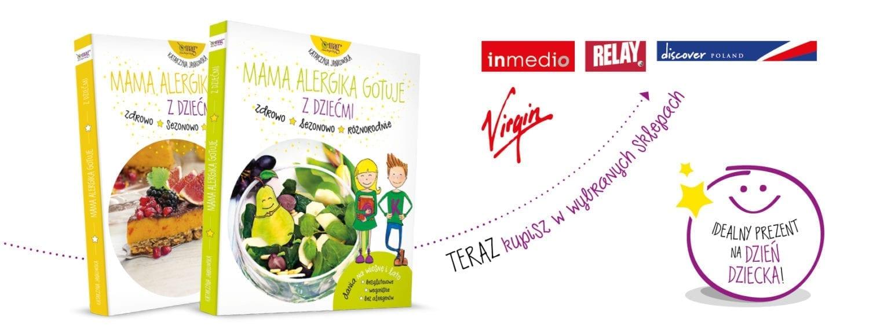 Książki Mama Alergika Gotuje Z Dziećmi w Inmedio