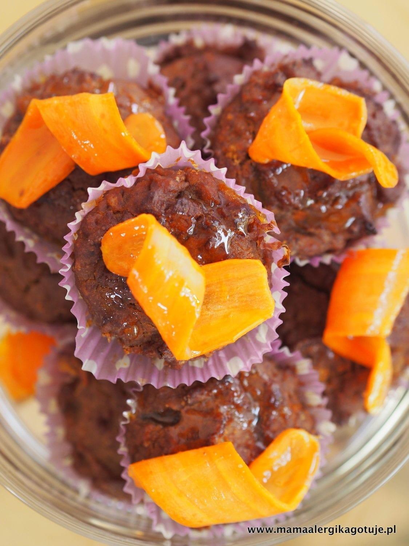 Bezglutenowe babeczki marchewkowe