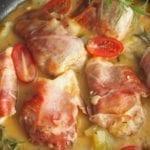 Filety z kurczaka w sosie z cukinią