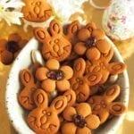Ciasteczka króliczki wielkanocne