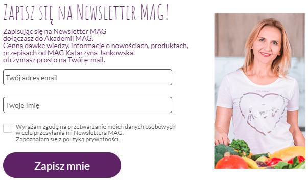 Zapis na Newsletter MAG Zagraniczne Wakacje Alergika
